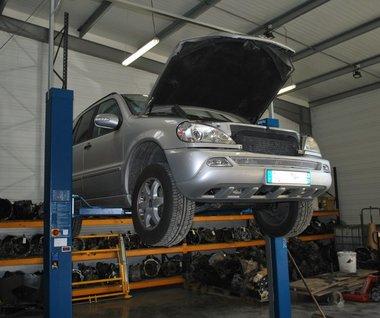 Mercedes 400 ML Bi Turbo dans nos ateliers