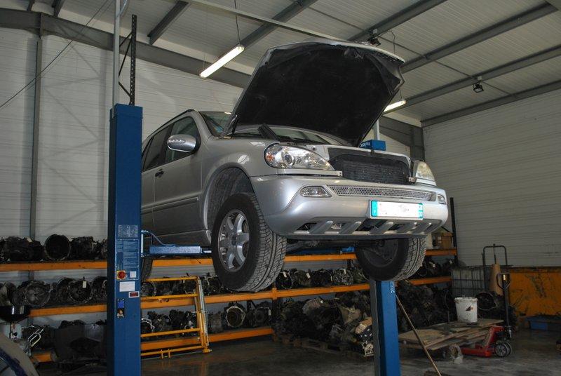 Notre atelier de réparation de boîte de vitesse