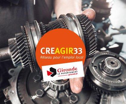 Trophée Création CREAGIR 33